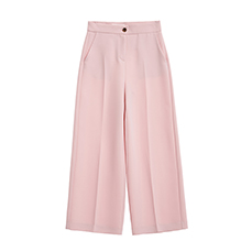 Spring wide slacks pants