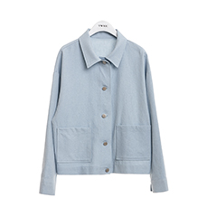 Cotton basic jacket